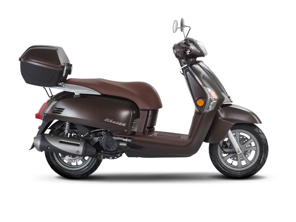 kymco retro roller 50ccm motorrad bild idee. Black Bedroom Furniture Sets. Home Design Ideas